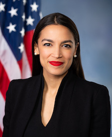 Photo of (D - NY) Alexandria Ocasio-Cortez