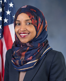 Photo of (D - MN) Ilhan Omar