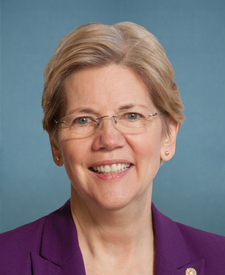 Photo of (SEN D - MA) Elizabeth Warren